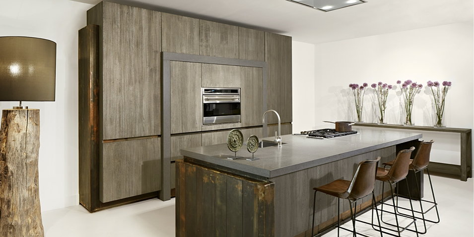 Kleur en textuur in de keuken