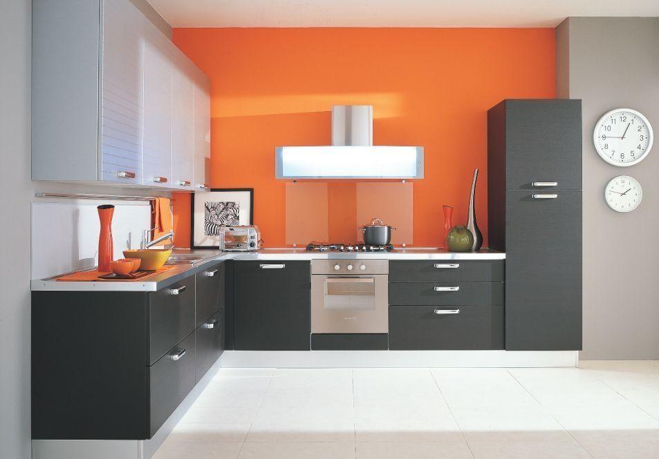 Keuken Kleine Kleur : Kleur en textuur in de keuken