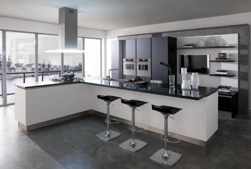 Keukenblad graniet keukenarchitectuur - Prijs graniet werkblad ...