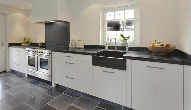 Granieten aanrechtblad keukenblad graniet