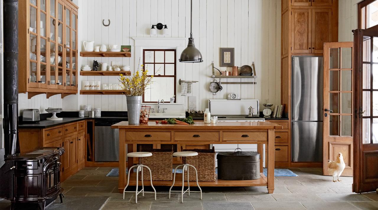 Keuken Landelijke Stijl : Tips voor de landelijke stijl keuken