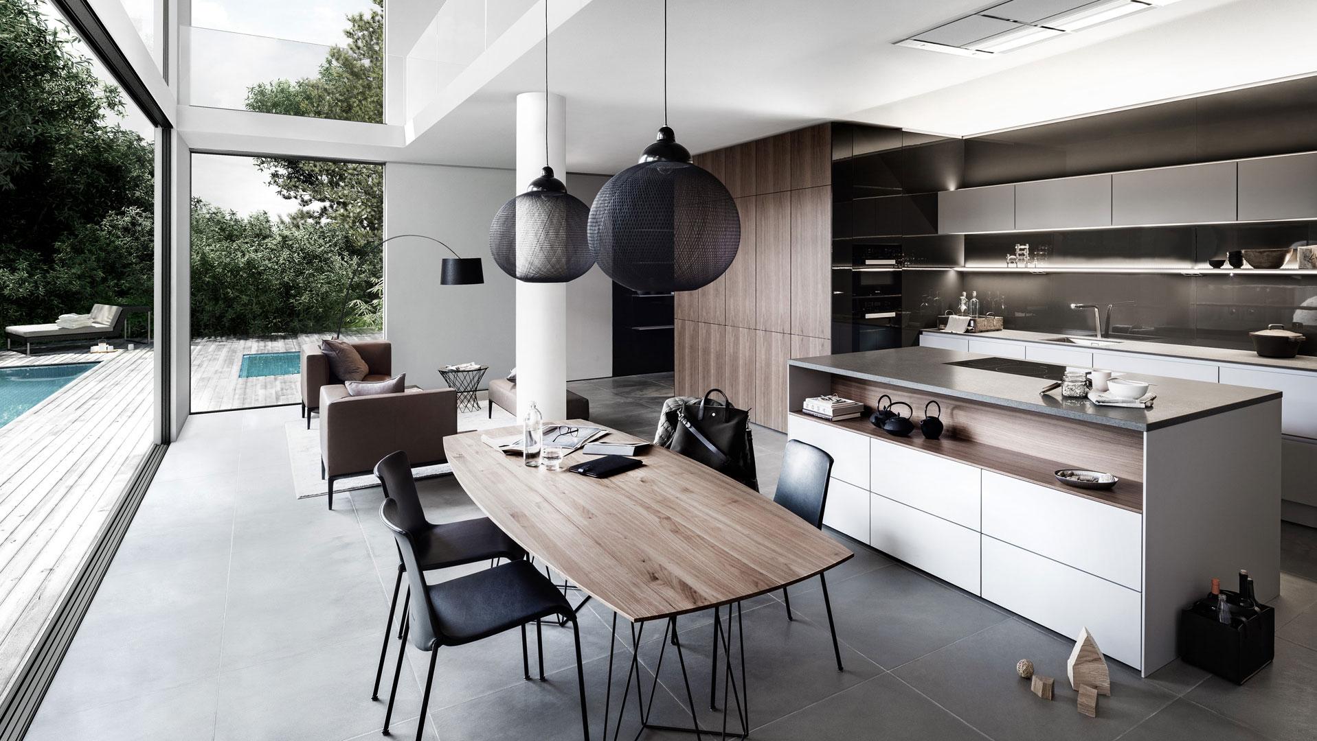 De keuken als tweede woonkamer